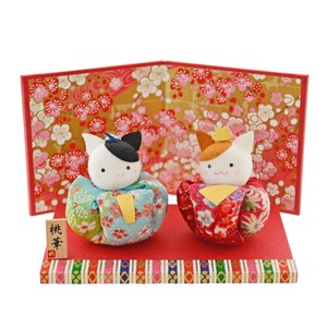 Doll Japanese Paper Crape Pouch Decoration Matsuri Hina-Doll Days For Girls