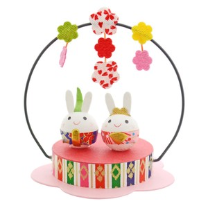 Doll Japanese Paper Crape Rabbit Mobile Matsuri Hina-Doll Days For Girls