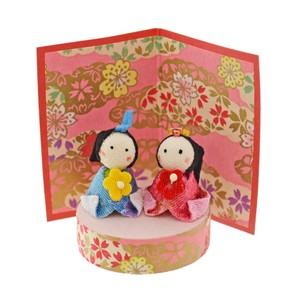 Doll Japanese Paper Crape Decoration Matsuri Hina-Doll Days For Girls