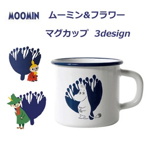 Enamel Mug Cup The Moomins Flower The Moomins Napkin