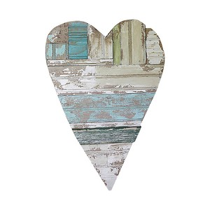 【Creative Co-Op Home】ウォールデコ Heart,Kathleen Wood Heart Wall Decor