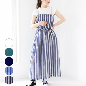 [2019NewItem] Cotton Waist Shearing Cami One-piece Dress mitis