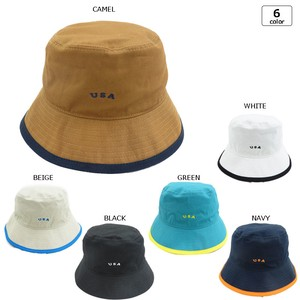 [2019NewItem] Embroidery pin BUCKET HAT