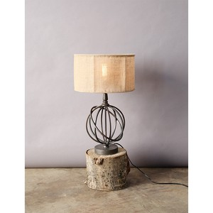 【Creative Co-Op Home】テーブルランプ,Metal Table Lamp w/ Shade