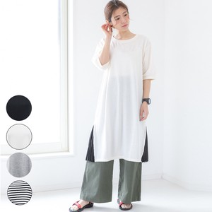 [2019NewItem] Fleece Pleats Long One-piece Dress myke