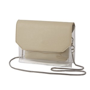 Bag Clear Pouch Square Chain Shoulder