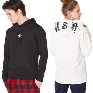 S/S Men's Food Print Fleece Sweat Hoody