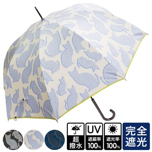 [2019NewItem] Unisex Cat One push Umbrellas UV Cut