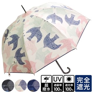 Unisex Scandinavia Bird One push Umbrellas UV Cut