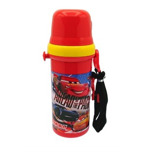 Car's To Drink attached cup Water Flask