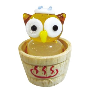 Glass Hot Springs Owl