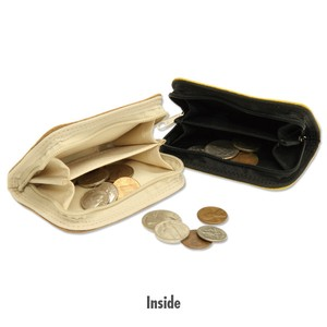 MOON Leather Coin Case