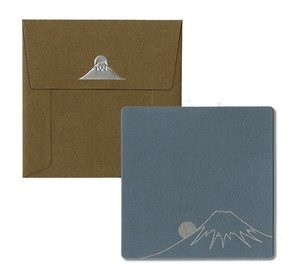 Square Card Envelope Mt. Fuji