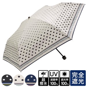 [2019NewItem] All Weather Umbrella Dot Folding UV Cut