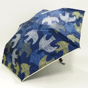 All Weather Umbrella Scandinavia Bird Folding UV Cut