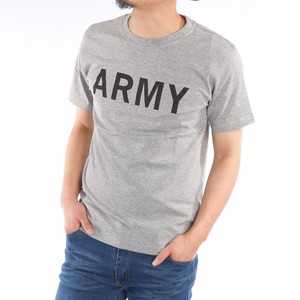 [2019NewItem] Short Sleeve T-shirt Crew Neck Print Army Print Military