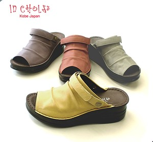 Material Open Toe Mule Easily Insole