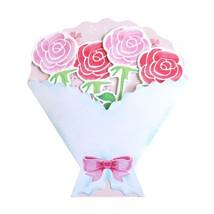 Bouquet COLORED PAPER pink