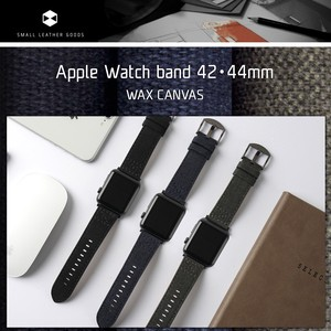 Apple Watch Apple Watch Band Wax Canvas