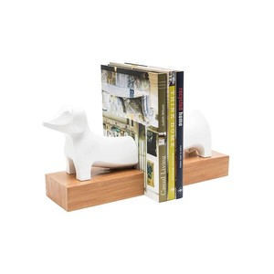 【Creative Co-Op Home】ブックエンド Dog,Resin Dog Bookends Set of 2