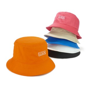 Box Embroidery Twill BUCKET HAT Young Hats & Cap