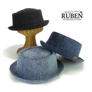 Ruben Indigo Pork Pie Hat Young Hats & Cap