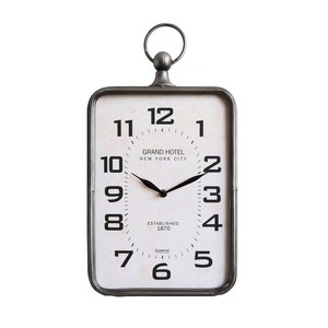 【SALE】【Creative Co-Op Home】ウォールクロック,Metal Wall Clock