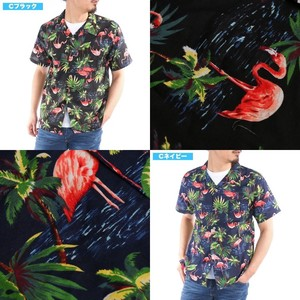 [2019NewItem] Aloha Shirt Repeating Pattern Open Color