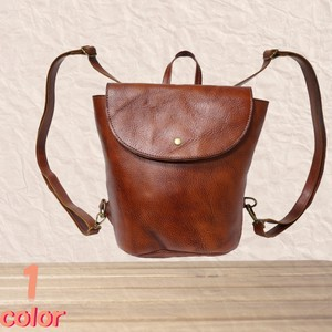 Backpack Shoulder 2WAY BAG Cow Leather 1 Color