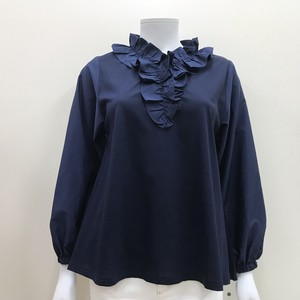 S/S Frill Blouse