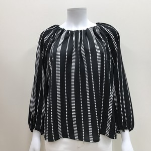 S/S Behind Dolman Blouse