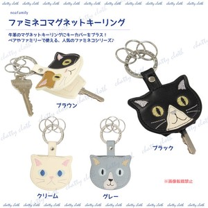 cat Magnet Key Ring