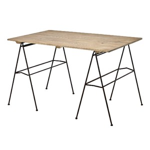 Iron Display Table Black