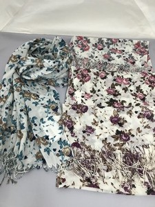 Floral Pattern Print Stole