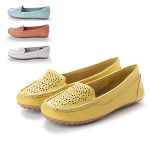 4 Colors Genuine Leather Spring Color Mesh Casual Shoe Comfort