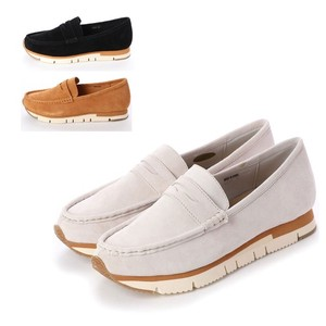 S/S 4 Colors Genuine Leather Casual Slippon
