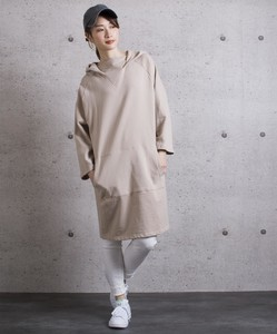 Fleece Hoody One-piece Dress
