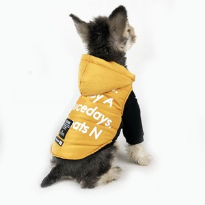 Pet Product Vest Down Hoody Dog cat Exclusive Use