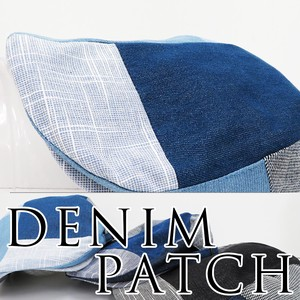 S/S Denim Flat cap Styling Design Patch