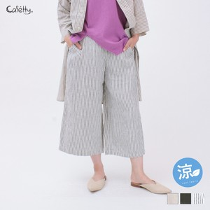 Wrap Culotte Pants Cafetty