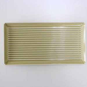 Square Dish Beige HASAMI Ware Healthy Effect