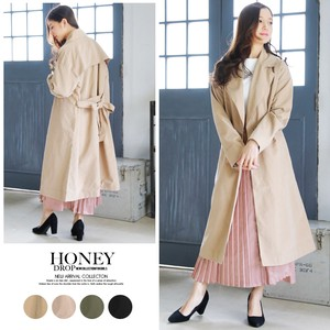 S/S Tailored Long Coat Light Outerwear
