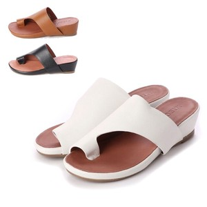 S/S 3 Colors Genuine Leather Thumb Sandal