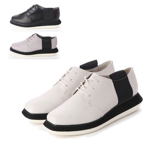 3 Colors Genuine Leather Lace Casual Shoe A/W