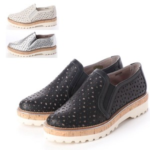 S/S 3 Colors Genuine Leather Casual Slippon