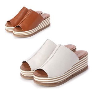 S/S 3 Colors Genuine Leather Casual Leather Sandal