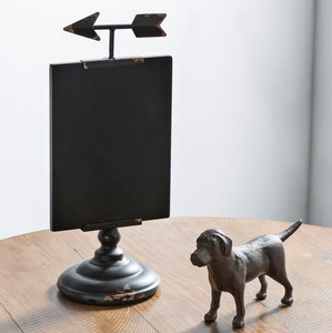 【Creative Co-Op Home】メッセージボード アロー,Metal Chalkboard on Stand w/ Arrow