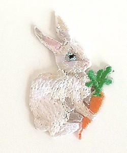 Nathalie Lete Applique Rabbit