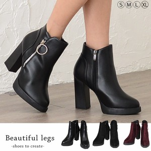 Appreciation Ring Petit Heel Short Boots Boots Sandal Short Boots