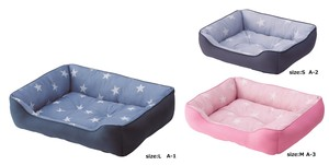 for School Pet Bed Star Pattern